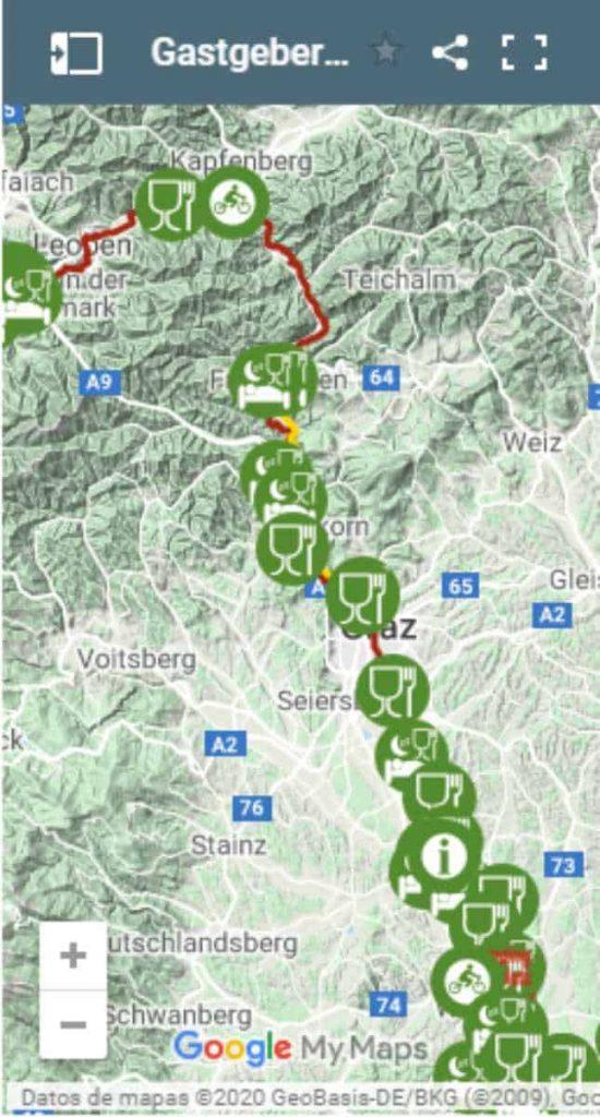 Murradweg Interkative Karte 2020 Aktuell Mobil