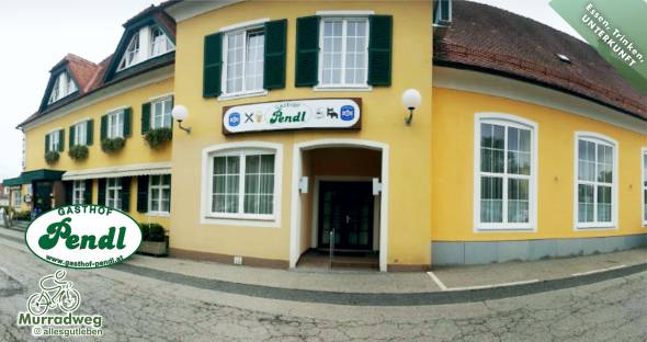 Unterkünfte am Murradweg Kalsdorf Gasthof Pendl