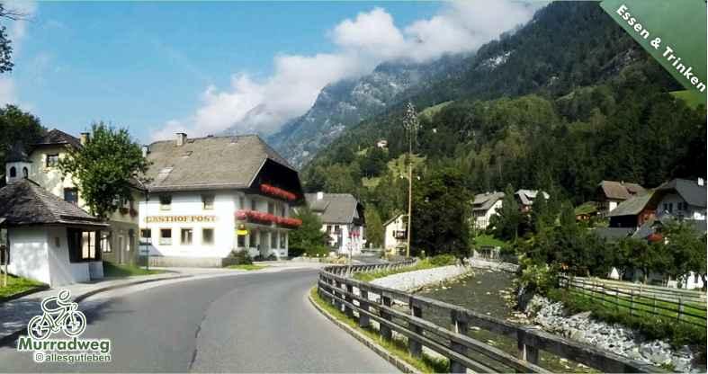 Gastgeber am Murradweg in Muhr Lungau Gaststaette