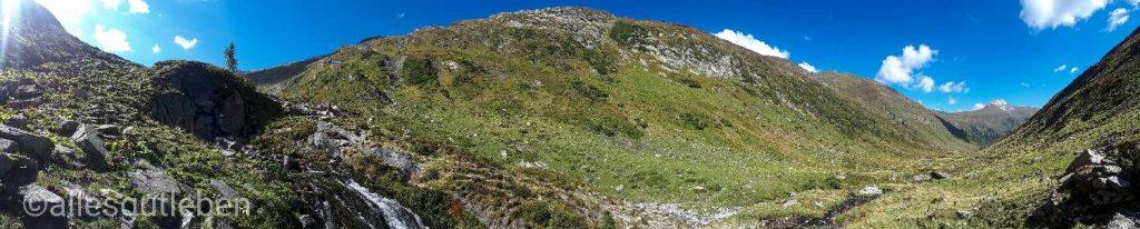 Murursprung in 1898m Seehöhe im Nationalpark Hohe Tauern Murradweg Aktuell