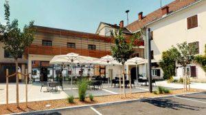 Murkostladen Cafe Bistro Gastgeber am Murradweg Gaststaette Mureck