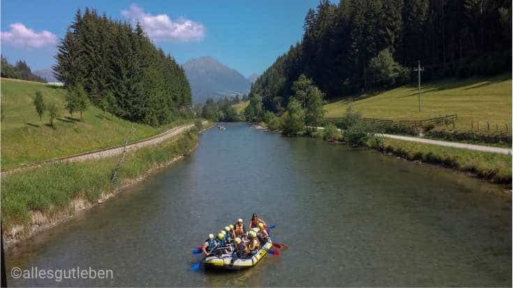 Gastgeber am murradweg Tamsweg Rafting am Murradweg