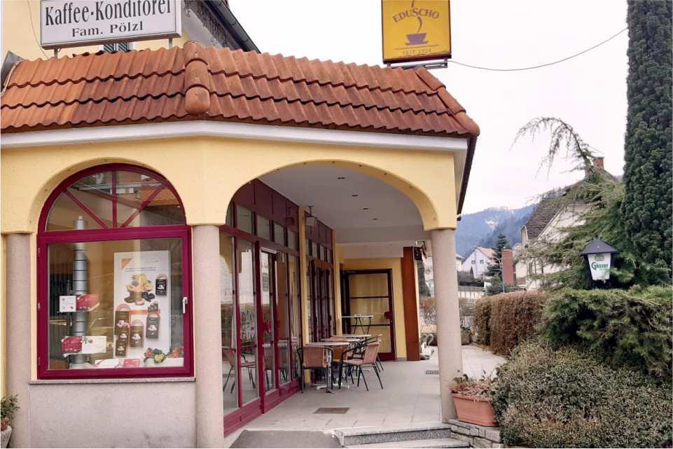 Cafe Konditorei Pölzl St Michael in Obersteiermark Gastgeber am Murradweg R2 Cafe