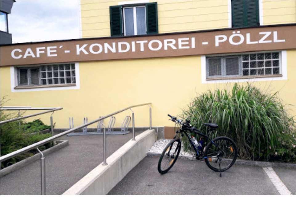 Cafe Konditorei Pölzl St Michael in Obersteiermark Gaststaette am Murradweg R2