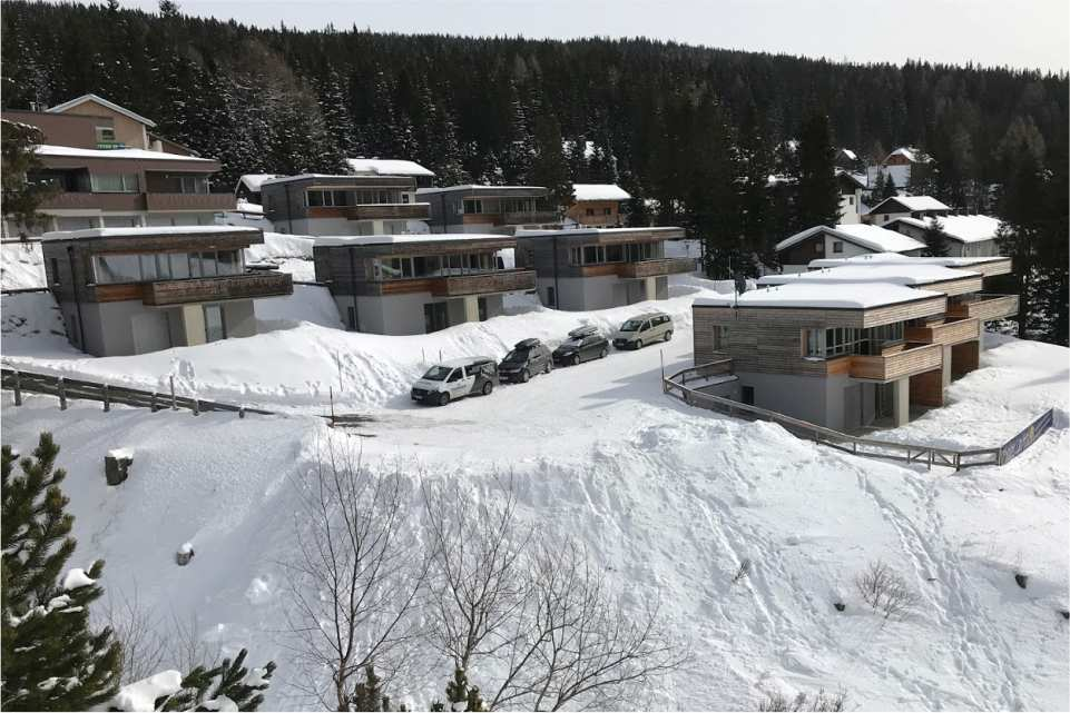 Chalets Lachtal Murradweg R2 Winter