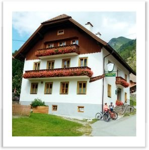 Gastgeber am Murradweg R2 Alpengasthof Jedl Muhr im Lungau