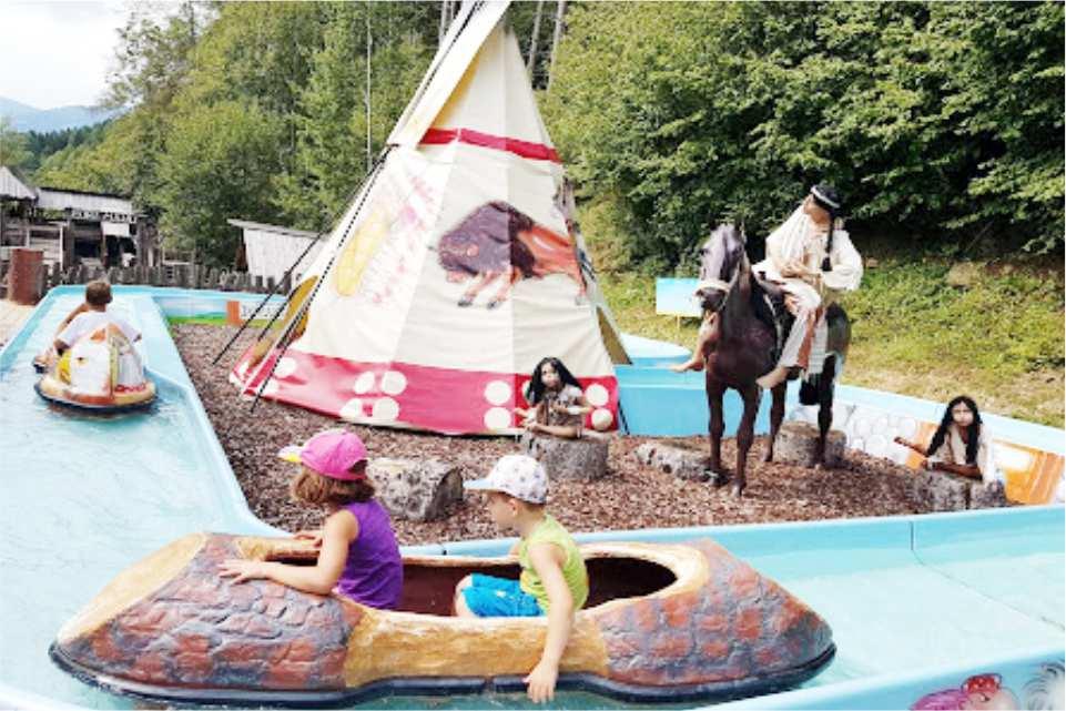 Familien Freizeit Park Märchenwald Steiermark Gastgeber am Murradweg Park