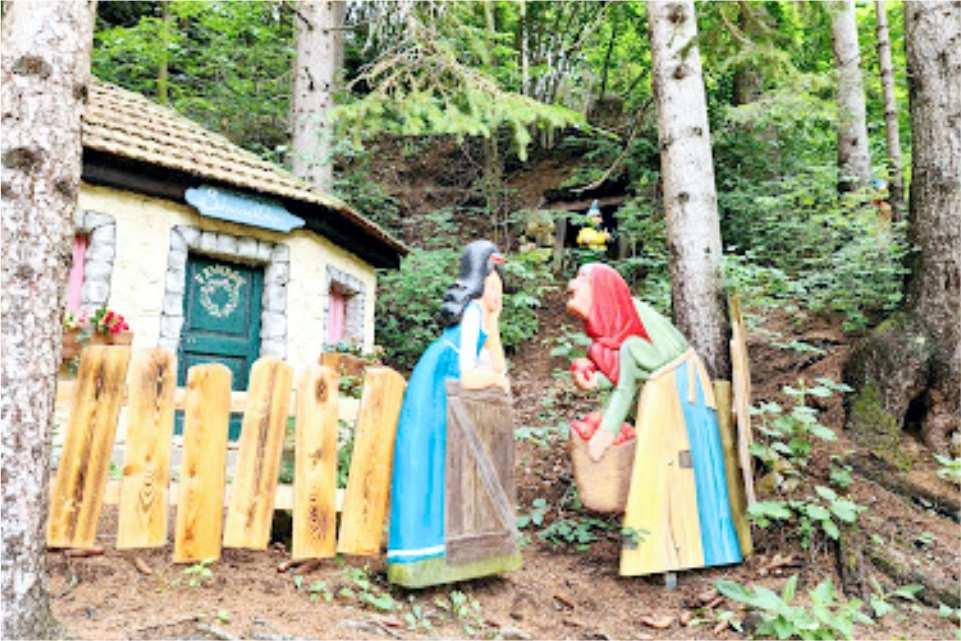 Familien Freizeit Park Märchenwald Steiermark Gastgeber am Murradweg