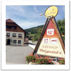 Gastgeber am Murradweg R2 Gasthof Metzgerstub´n St. Michael im Lungau Gaststaette