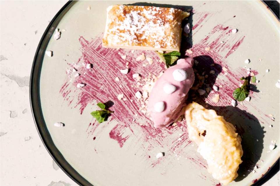 Gasthof Roecksee Gastgeber am Murradweg Dessert