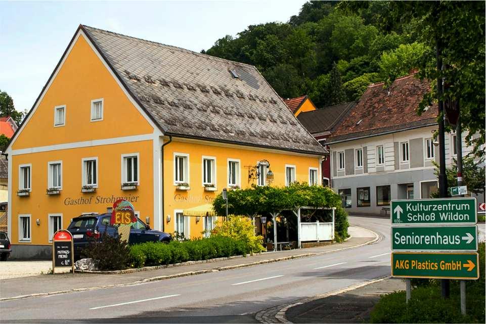 Gasthof Strohmaier Wildon Unterkunft am Murradweg R2 Direkt