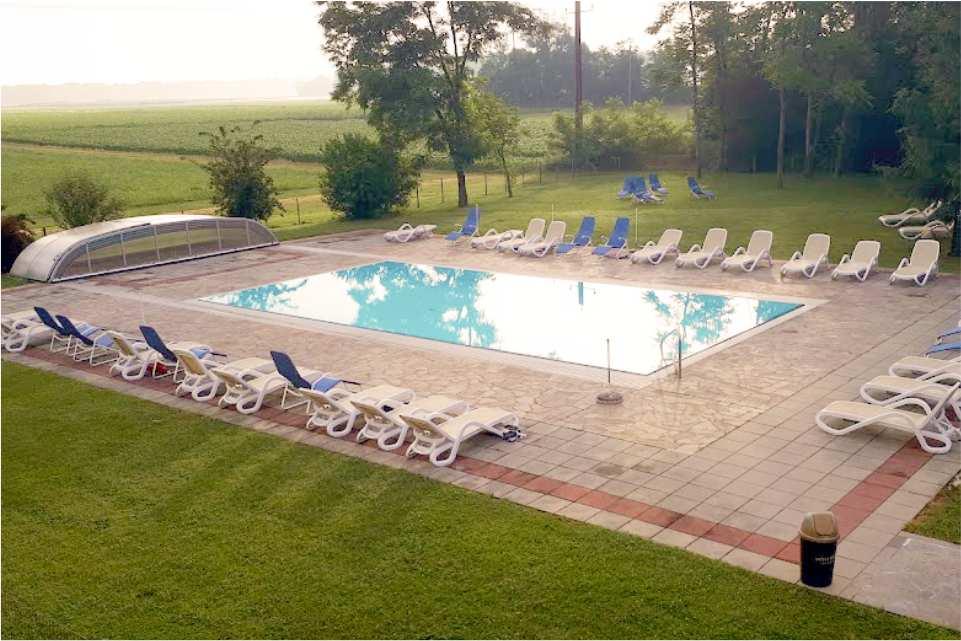 Gasthof zum Lindenhof Bad Radkersburg Gastgeber am Murradweg R2 Pool