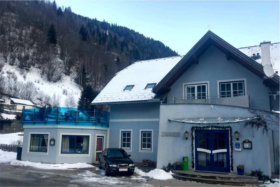 Gasthof zum Postwirt Predlitz Winter