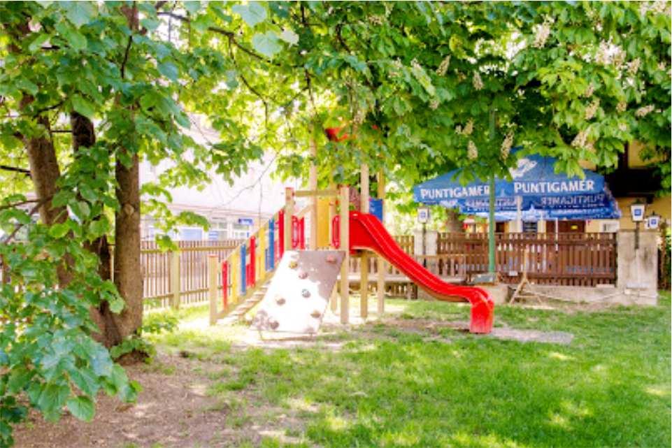 Heidis Schlemmereck Gratkorn Gaststaette am Murradweg R2 Kinderspielplatz