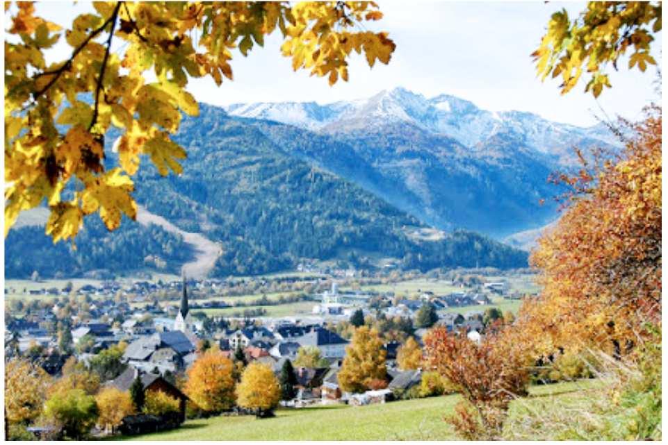 Herbst in St Michael im Lungau Gastgeber am Murradweg