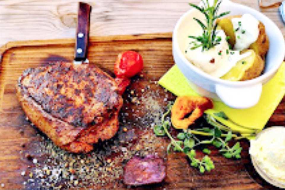 Hotel Restaurant Gasthof Pendl Kalsdorf Unterkunft am Murradweg R2 Steaks