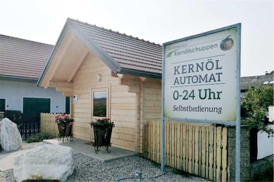 Kernölautomat Obervogau Gastgeber am Murradweg R2