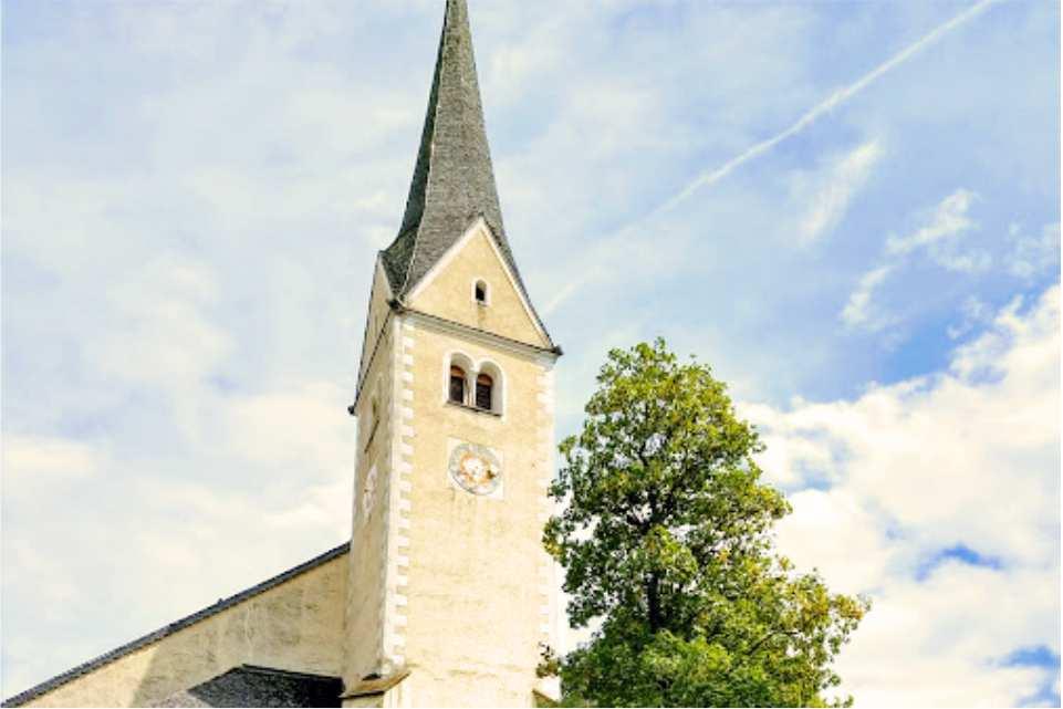 Kirche St Michael im Lungau Murradweg R2