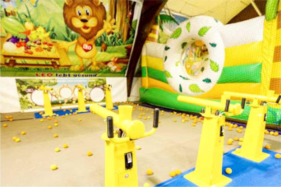 Leopark indoorspielplatz St Michael in Obersteirmark Gastgeber am Murradweg Funny 2