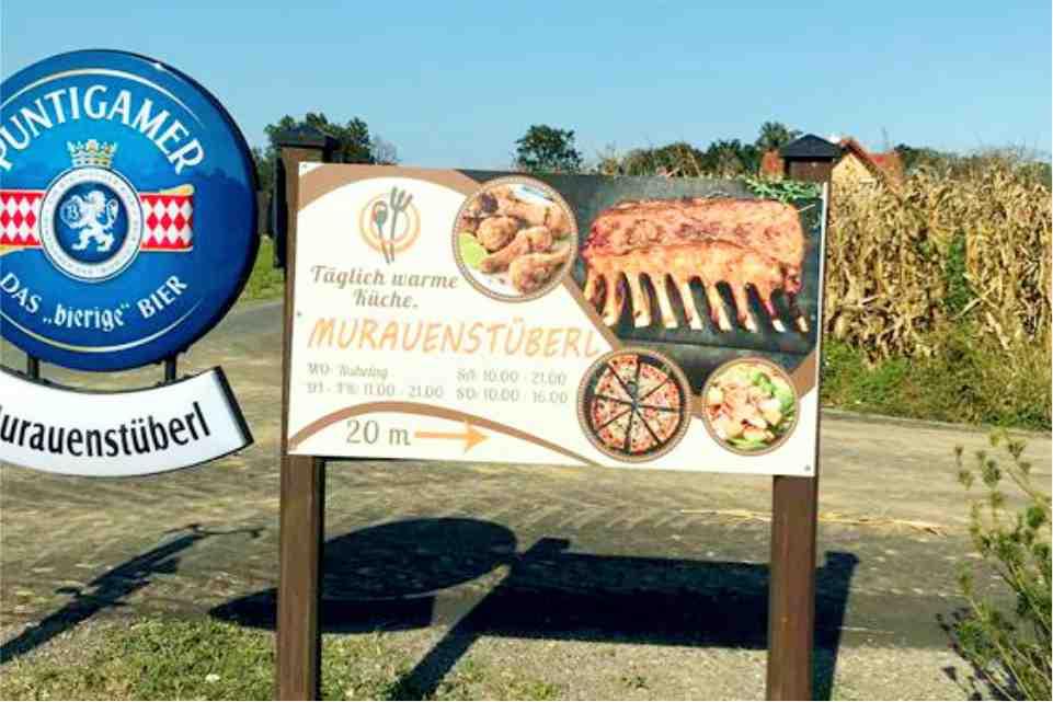 Murauenstüberl Halberain Bad Radkersburg