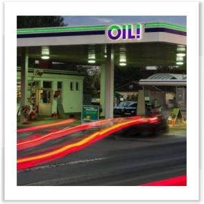 OIL Tankstelle Cernoga Lebring Murradweg Tankstelle