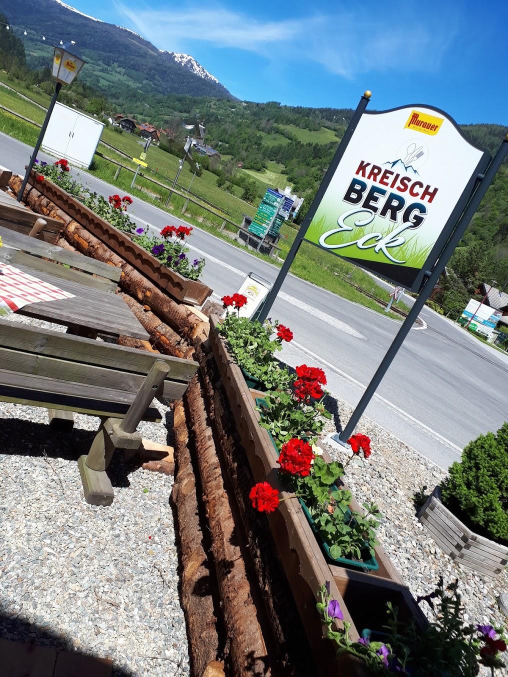 Restaurant Kreischberg Eck St Georgen ob Murau Gaststaette am Murradweg Terrasse