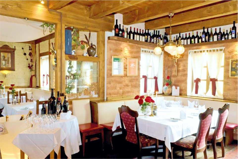 Restaurant Murnockerl Gralla Gastgeber am Murradweg R2 Saal