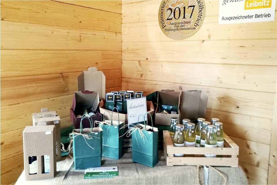 Teichtmeisters Kernölschuppen Gastgeber am Murradweg R2 Ab Hof Produkte