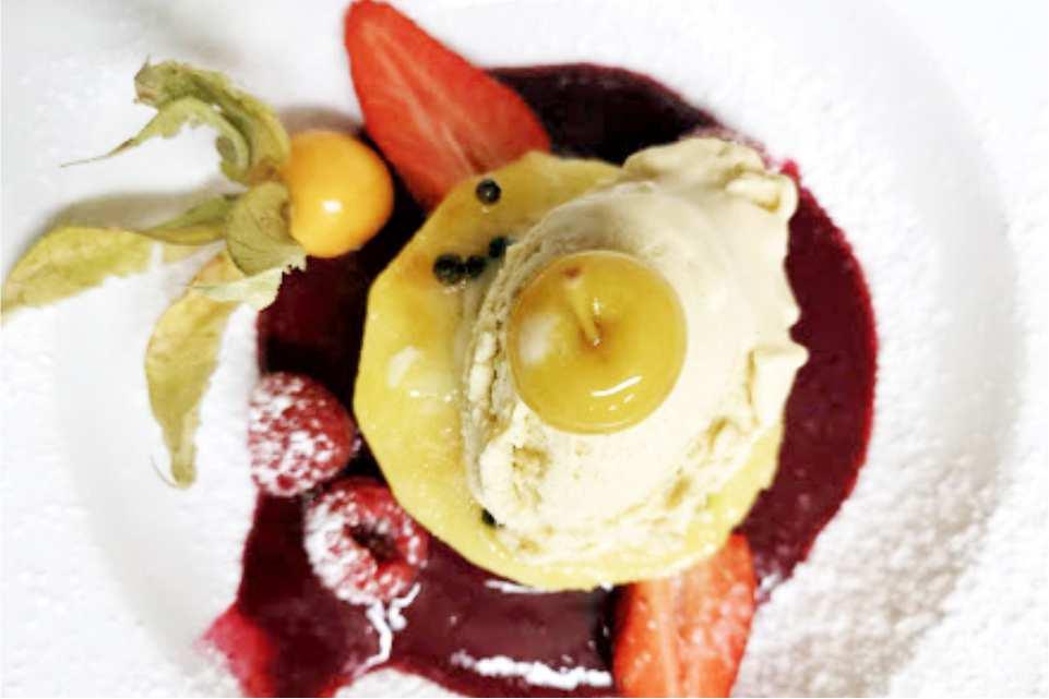 Trend Lokal Rooms Bar Frohnleiten Gaststaette am Murradweg R2 Dessert