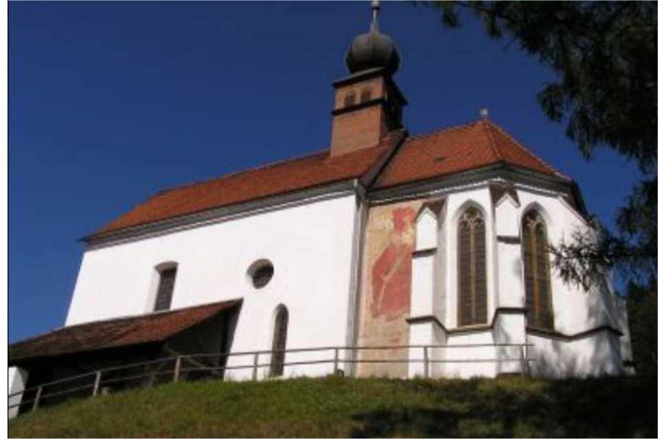 Walpurgiskirche Ausflugsziel am Murradweg St. Michael in Obersteiermark 2020