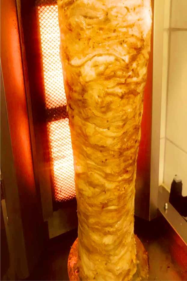 Kebab bei Leo Pizzeria St. Michael in Obersteirmark