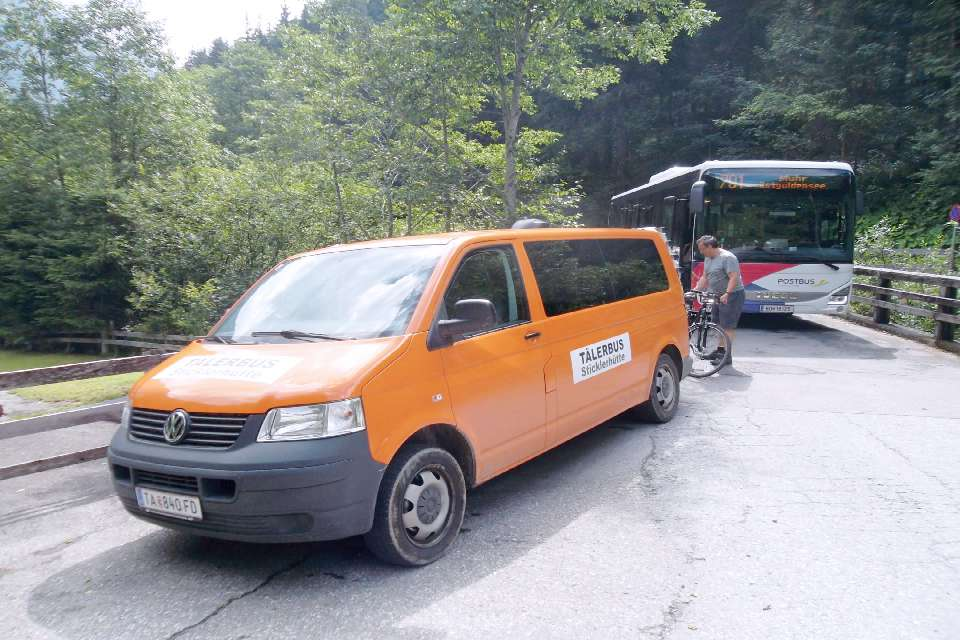 Taelerbus zu Sticklerhuette Murradweg R2 2021